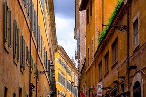 Street, Architecture, Italian, Roman