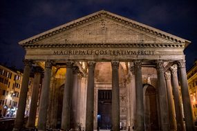 Pantheon, Rome, Italy, Architecture