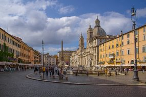 Place, Piazza, Navona, Rome, Italy
