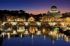 Rome, Vatican, City, Italy, Tiber