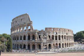 Colosseum, Rome, Architecture, Italy