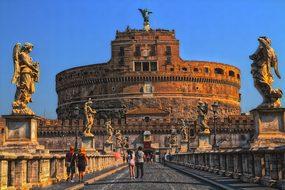 Rome, Castel Sant'Angelo, Italy