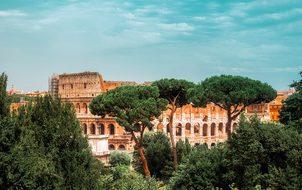 Rome Italy Colosseum Landmark Historic Tou