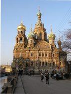 Church, Cathedral, Petersburg, Landmark