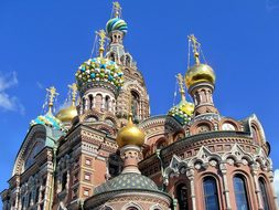 Russia Saint Petersbourg Cathedral Saint S