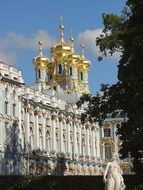 Russia Palace Castle Saint Petersburg Muse