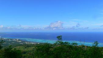 Saipan Island Beach Ocean Commonwealth Nor