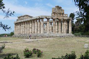 Paestum, Italy, Antiquity, Ruin