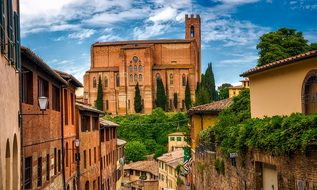 Siena Italy City Town Landmarks Historic T