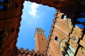 Siena Tuscany Italy Architecture Square Of