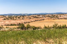 Crete Senesi, Siena, Italy, Tuscany