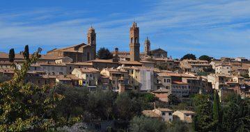Montalcino Siena Tuscany Landscape Italy M