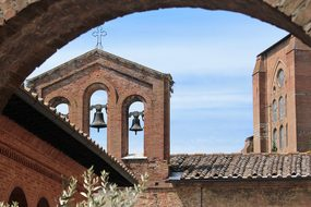 Siena, Church, Buildings, Houses, Italy