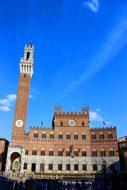 Siena, Tuscany, Italy, Torre, Palazzo
