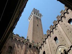 Siena Church Italy Building Dom Tower Sien