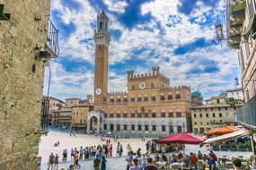 Siena Tuscany Italy Architecture Church Bu