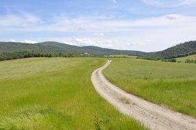 Campaign Tuscany Prato Siena Landscape Nat