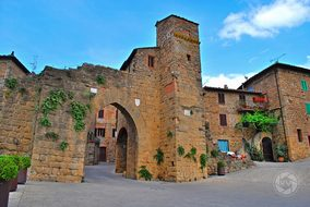 Monticchiello Of Pienza, Siena, Tuscany