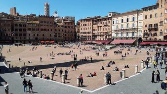 Siena, Marketplace, Italy, Tuscany