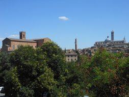 Siena, Tuscany, Italy, Landscape