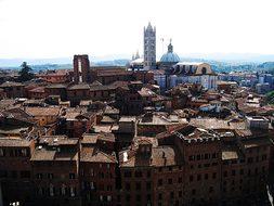 Tuscany, Siena, Italy, Old Town