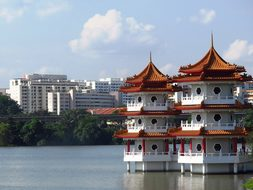 Tower Building, Chinese Garden