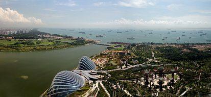Singapore Marina Bay Modern Stylish Panora