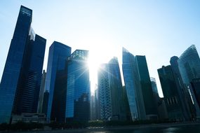 Singapore, Building, Architecture, Asian