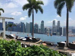 Singapore Asia Travel Backpacker Metropoli