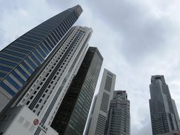 Singapore, Raffles Place, Afternoon