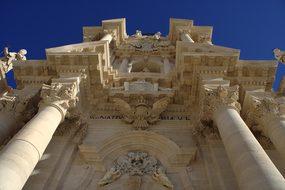 Italy, Sicily, Siracusa, Dom, Church