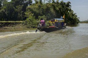 River Boat Tamron Bangladesh Bichnakandi S
