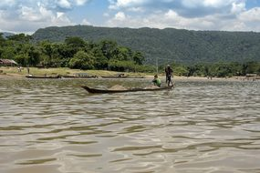 River Tamron Bangladesh Bichnakandi Sylhet