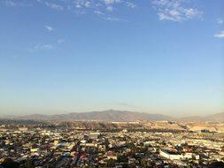 City Tijuana Mexico Baja Country Scenery M