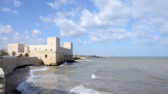Italy, Pouilles, Adriatic, Fortress
