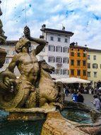 Trento, Italy, Fountain