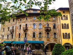 Italy, Trento, Mediterranean
