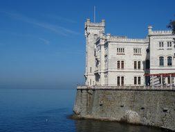 Architecture, Travel, Trieste, Castle