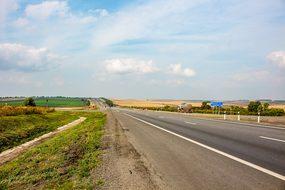Road, Russia, Track, Empty, Freedom