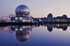 Science World False Creek Vancouver Britis