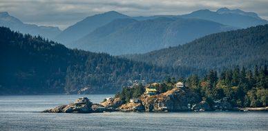 Vancouver, Island, Canada, Coastline