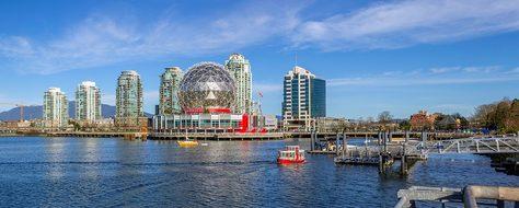 Vancouver British Columbia Canada Landscap