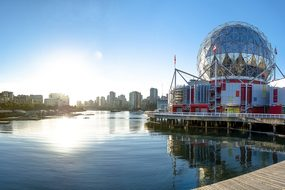 Vancouver Canada Science World British Col