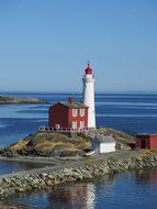 Lighthouse Vancouver Canada Fisgard Lighth