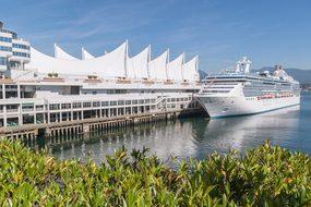 Vancouver Canada Port Cruise Ship Pier Pac