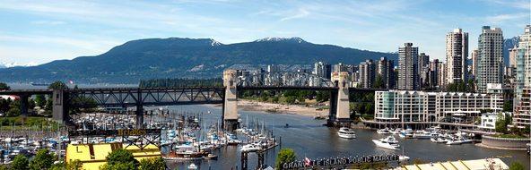 Vancouver Bridge Columbia British Canada C