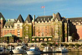 Empress Hotel Victoria Inner Harbor Travel