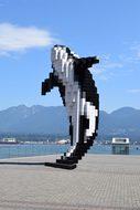 Whale, Vancouver, Mountains, Tourism
