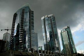 Vancouver Skyscraper Canada British Columb