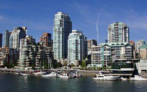 Skyline Vancouver British Columbia Canada